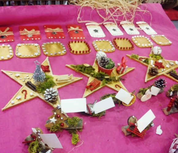 Ateliers créatifs thème Noël