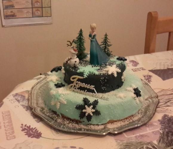 Gâteau d'anniversaire Perlinette