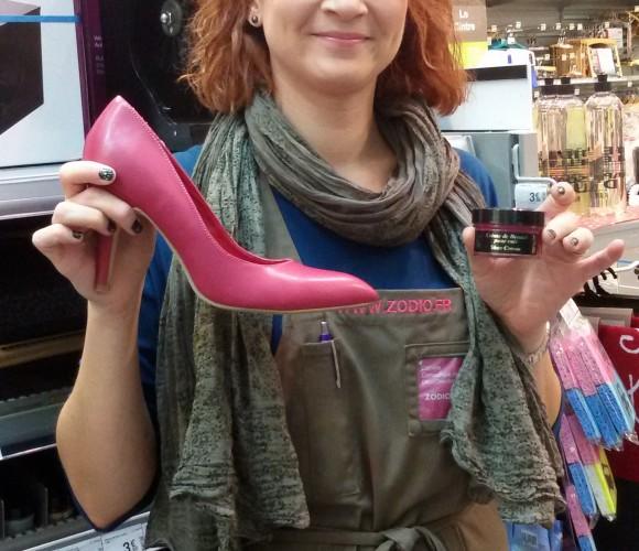 J'ai choisi pour mes chaussures les crèmes de beauté pour cuir de Famaco