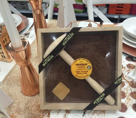 Cette année, j'ai choisi pour mon Papa le chocolat à casser Comptoir de Mathilde