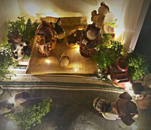 Petit mais FIMo. …ma crèche de Noël