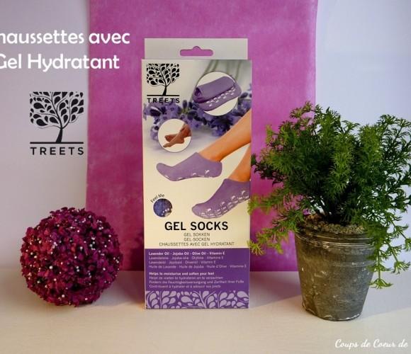 J'ai testé pour vous les Chaussettes avec Gel Hydratant TREETS
