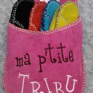 """J'ai choisi pour ma famille : le chausson """"Ma petite tribu"""""""