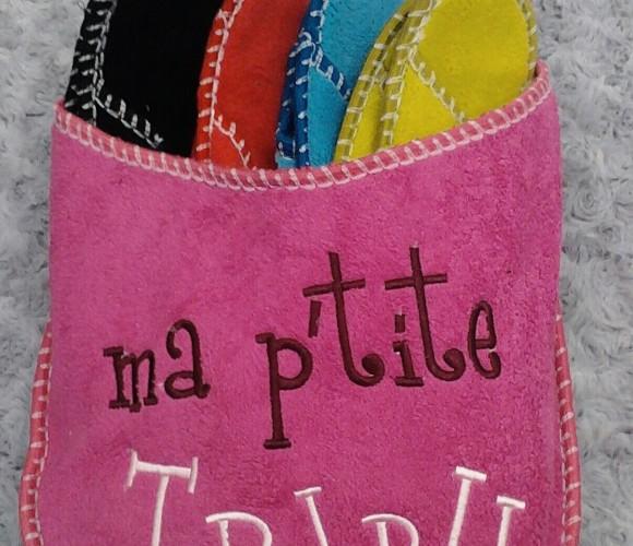 J'ai choisi pour ma famille : le chausson «Ma petite tribu»