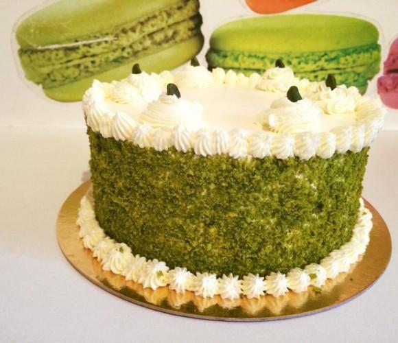 Recette layer cake pistache