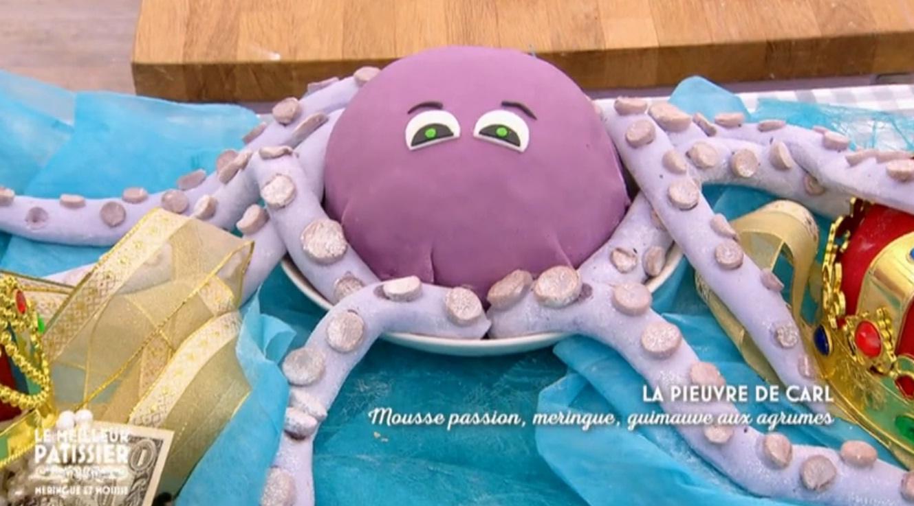 La pieuvre de Carl du Meilleur Pâtissier
