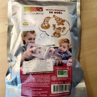 J'ai testé pour vous préparation pour petits biscuits de Noël SCAPCOOKING