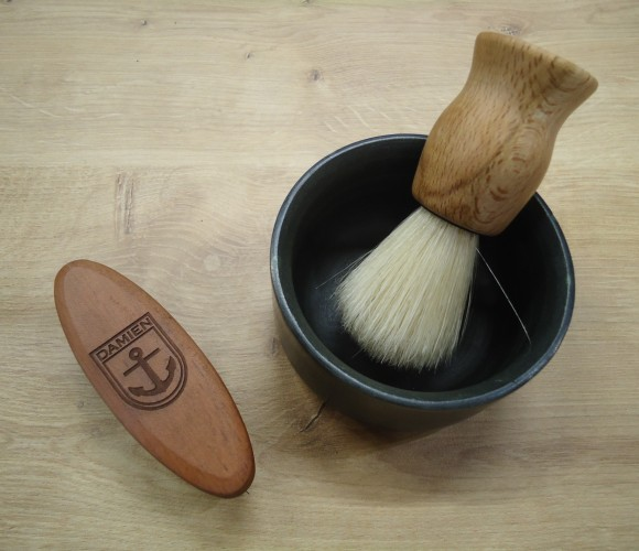 Une brosse à barbe, ça se personnalise aussi!