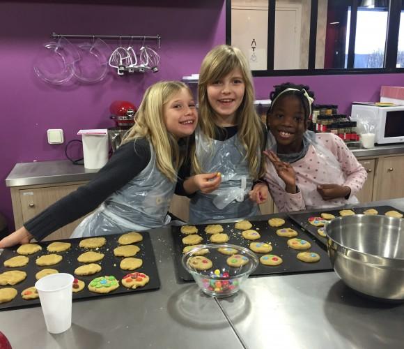 Atelier Cookies aux Smarties