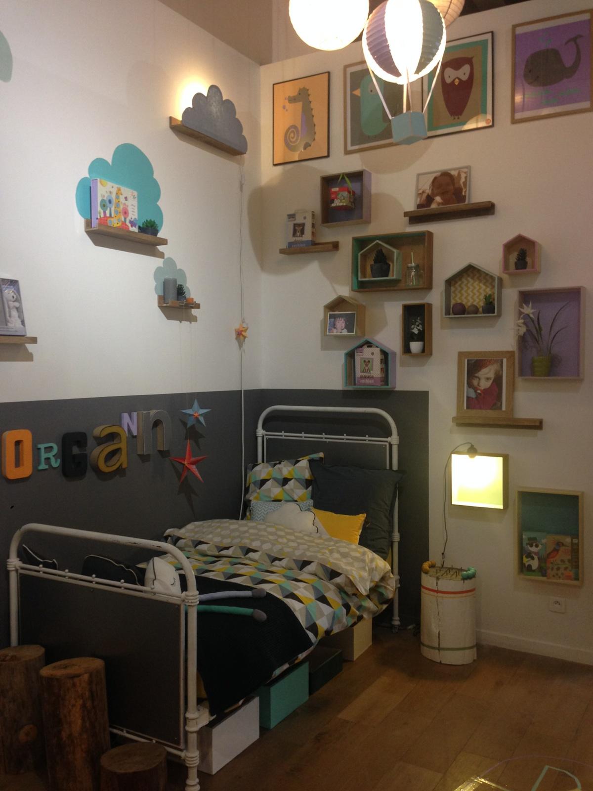 Rêver et jouer dans ma chambre enfant...