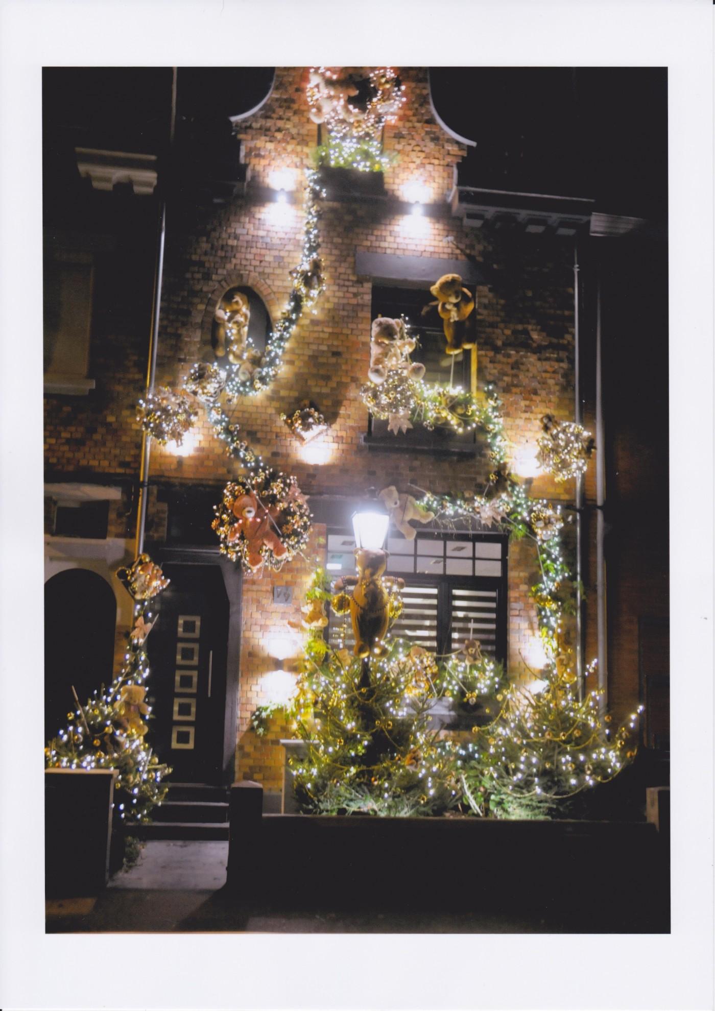 Décoration de Noël de ma façade de maison (Blog Zôdio)