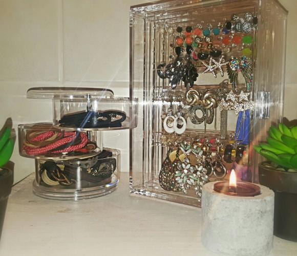 Mes rangements «cristal» de chez Zodio
