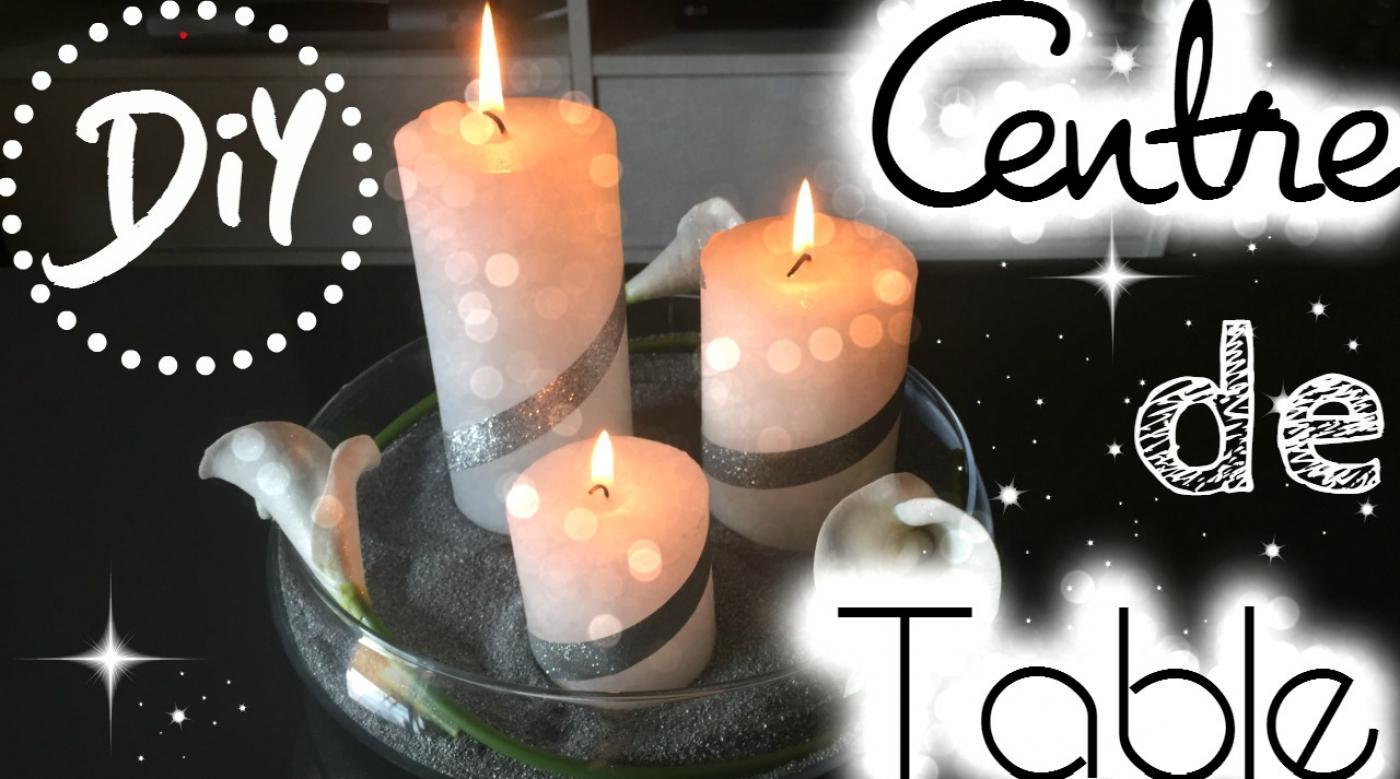 Un centre de table pour les fêtes ? (Noël, baptême, mariage ...) | DIY