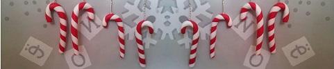 Mes créations en Fimo pour Noël