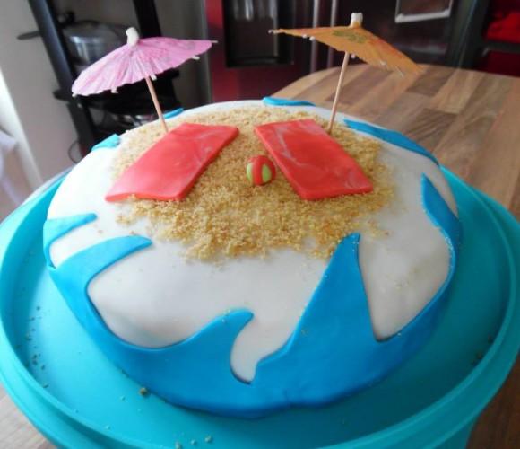 Mon gâteau «Plage»