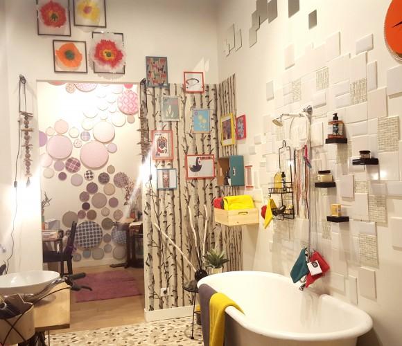 Déclic «Colors» Dans la Salle de bain de Gennevilliers !