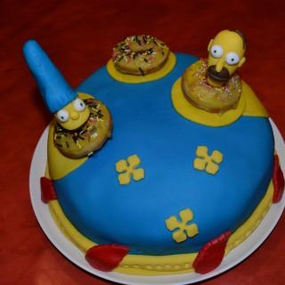 G teau d 39 anniversaire les simpsons blog z dio - Anniversaire simpson ...