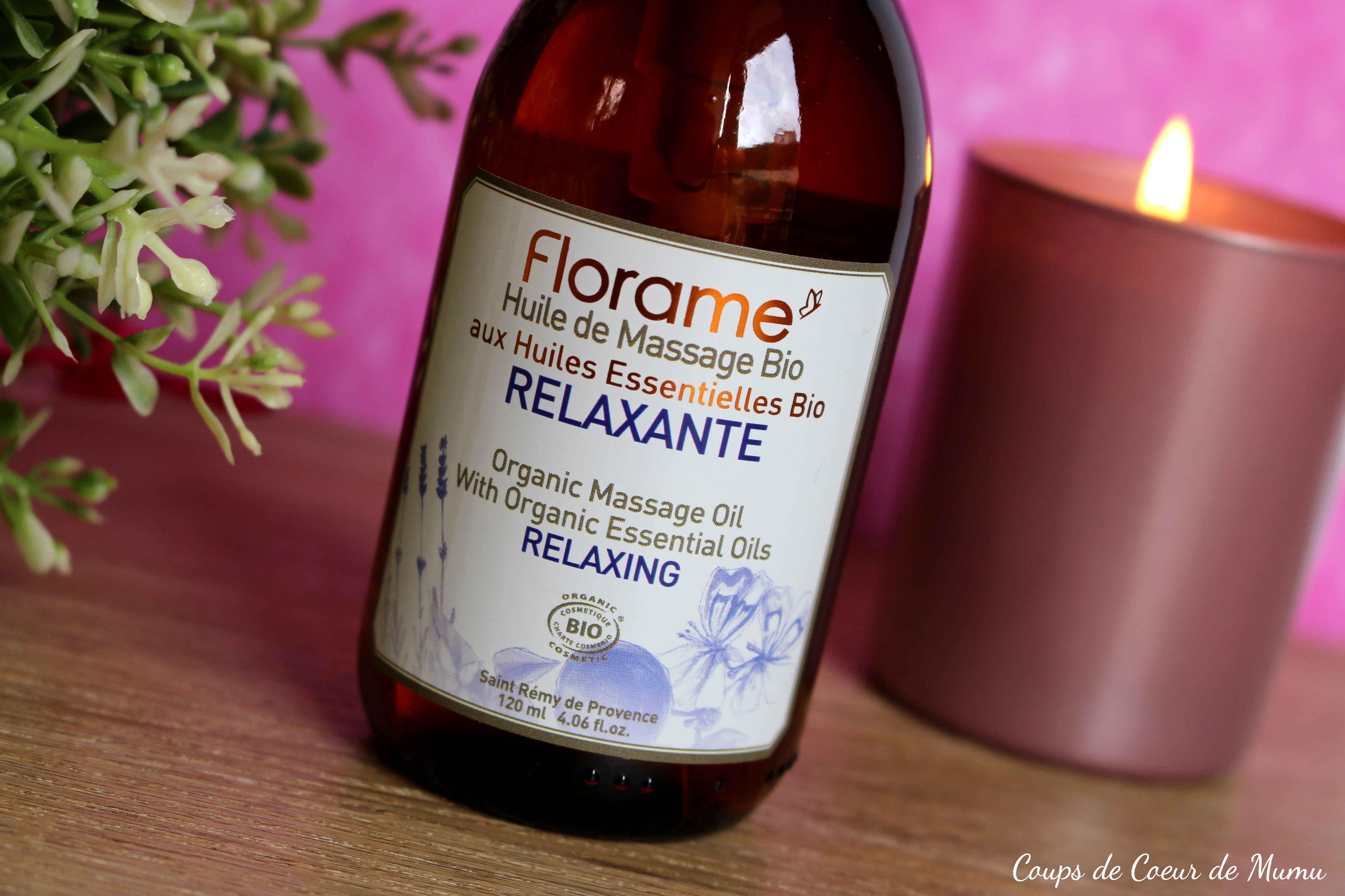 j 39 ai test pour vous l 39 huile de massage relaxante bio florame blog z dio. Black Bedroom Furniture Sets. Home Design Ideas