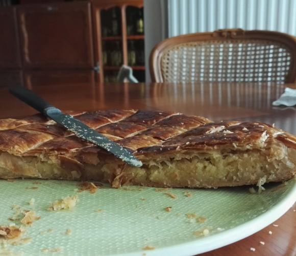 Ma 1ère galette des rois Frangipane-crème pâtissière