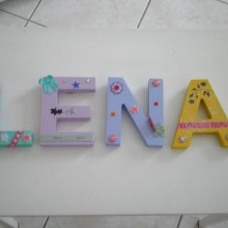 Prénom en lettres