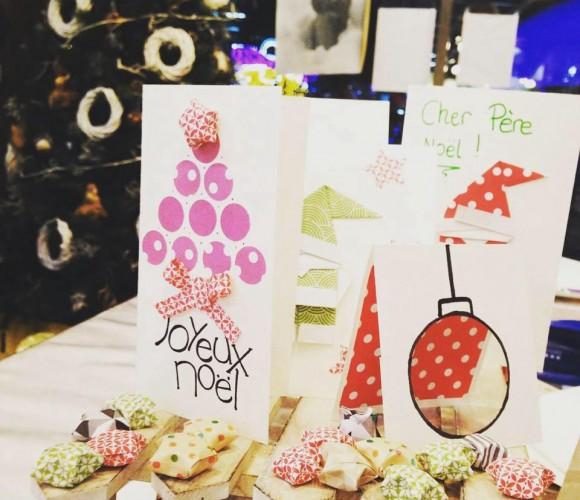 Atelier papeterie de Noël – Zodio Angers