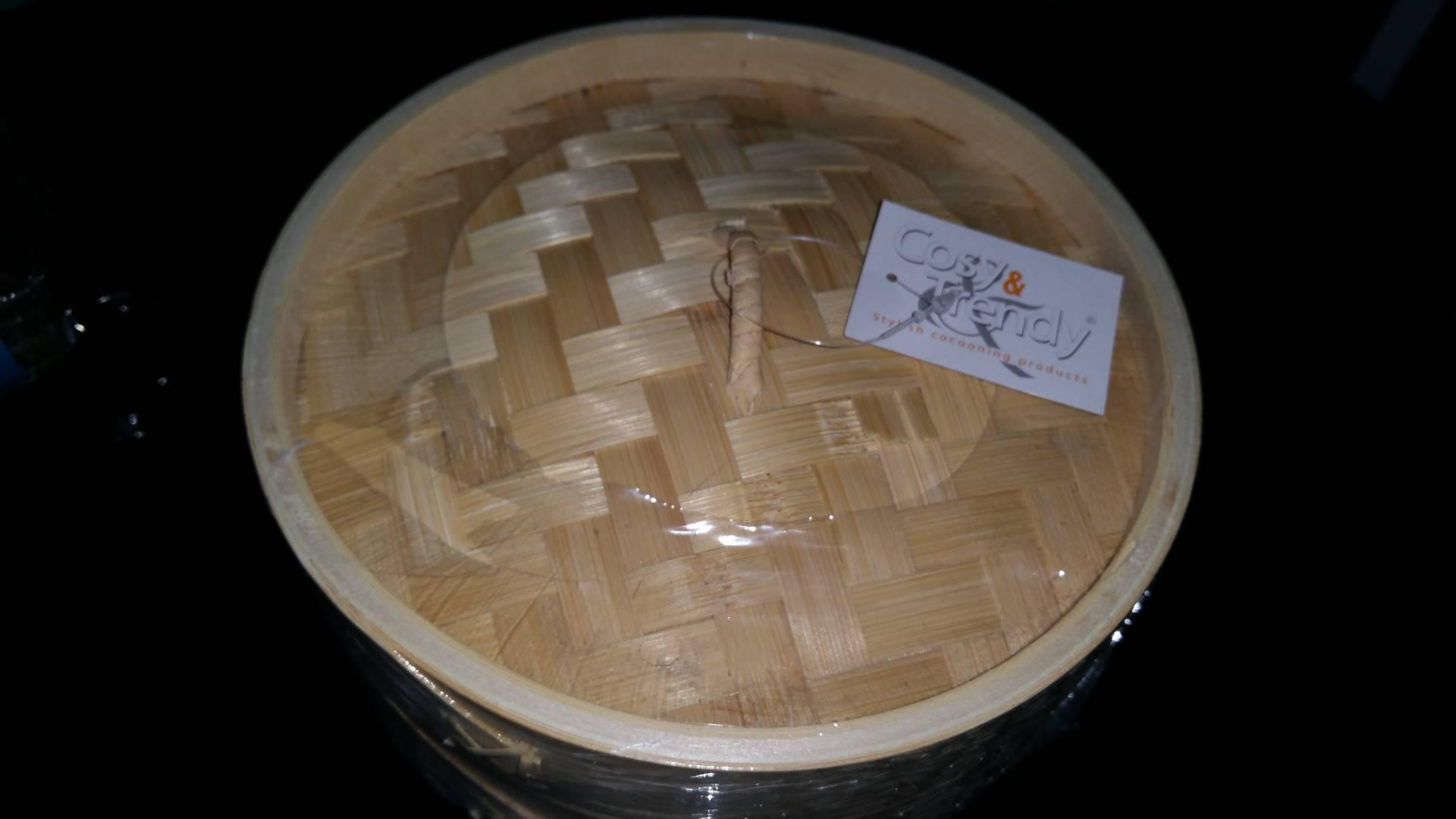 J'ai testé pour vous le panier cuisson vapeur bamboo