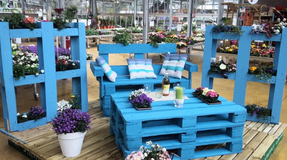 Ma dernière réalisation salon de jardin en palette (Blog Zôdio)