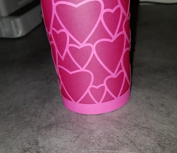 Lanterne pour la saint valentin