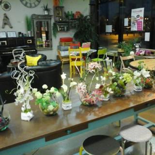 J'ai testé pour vous l'atelier Décoration Florale avec Ingreed