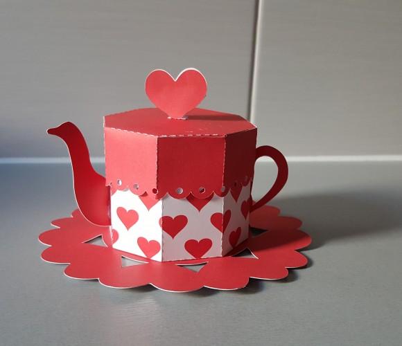 Tasse gourmande pour la St Valentin