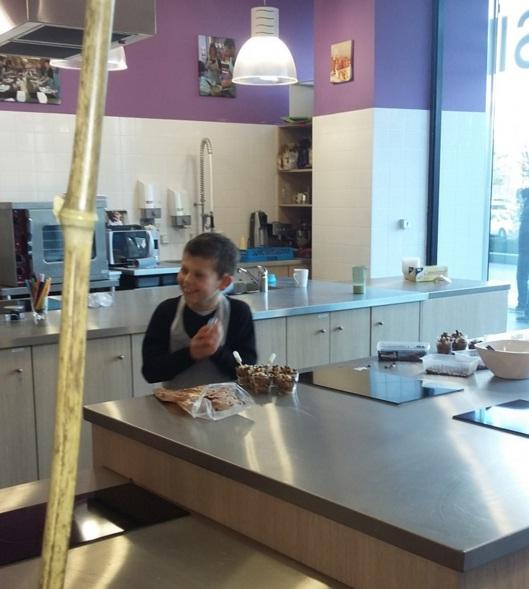 Cl ment a test pour vous l 39 atelier cuisine chez pierre for Atelier cuisine metz