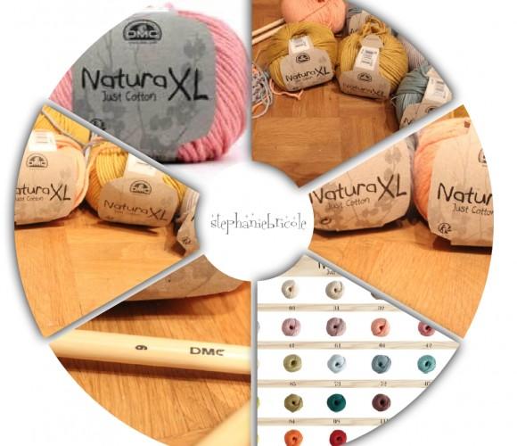 Le coton Natura XL de DMC !!!