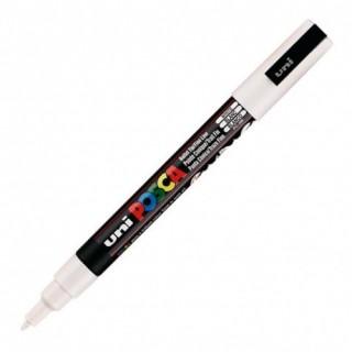 J'ai testé pour vous stylo Posca blanc