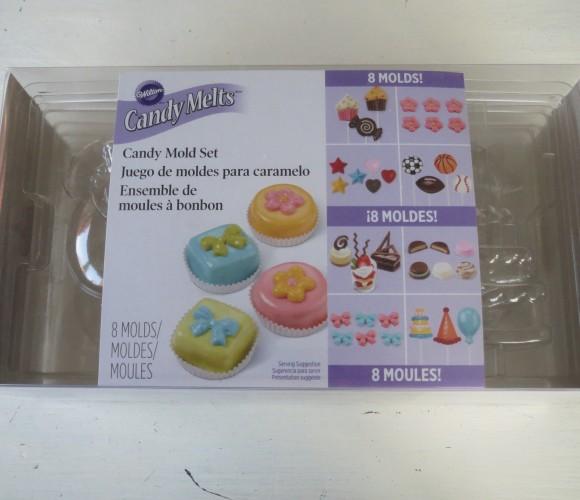 J'ai testé pour vous les moules à bonbon Candy Melts Wilton
