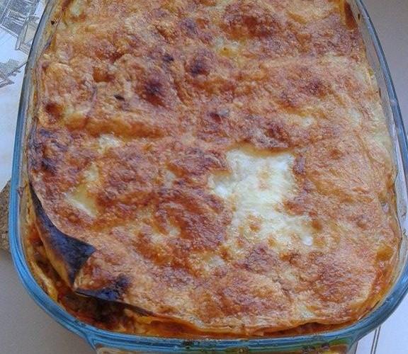 Les lasagnes à la bolognaise à l'italienne