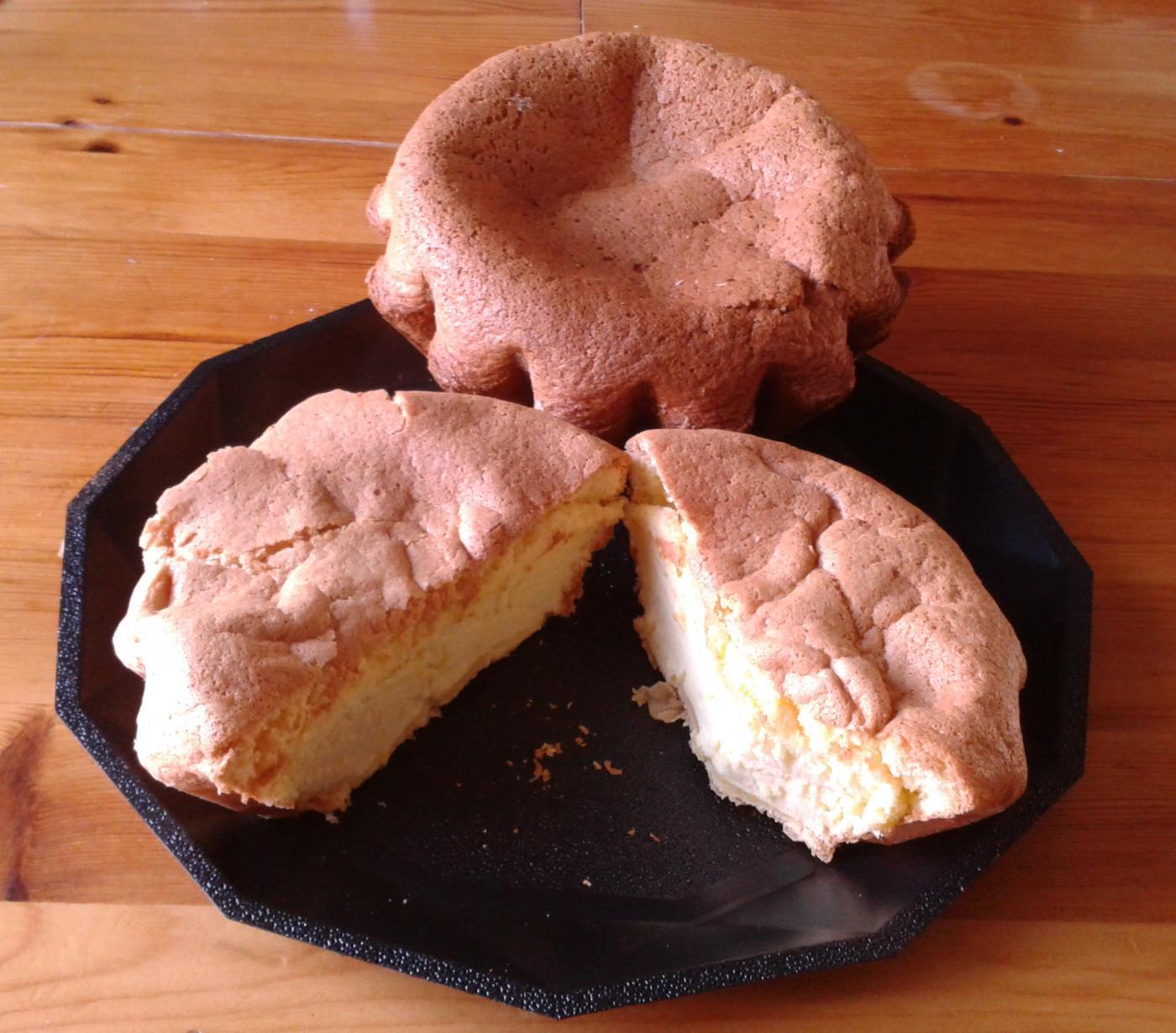 Le gâteau mousseline, un gâteau léger et rapide à faire !!