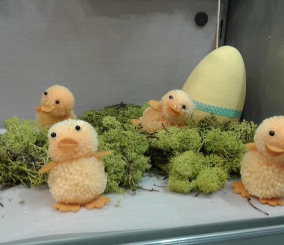 Les petits poussins de pâques