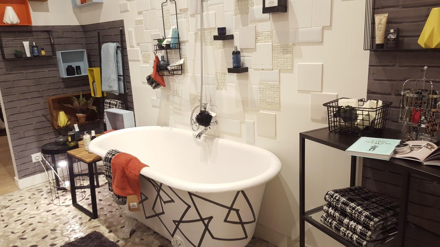 Une salle de bain \