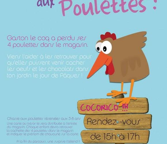 Chasse aux poulettes – Zôdio Angers !