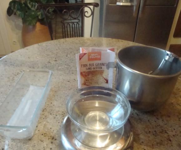 J'ai testé pour vous pain aux graines sans gluten.»mon fournil»