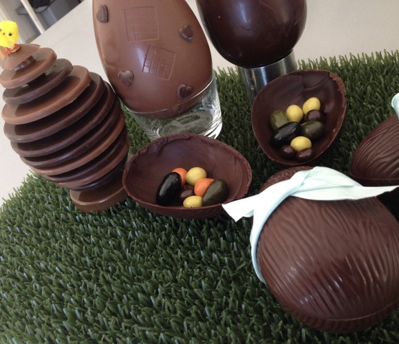 Faire ses chocolats de Pâques!