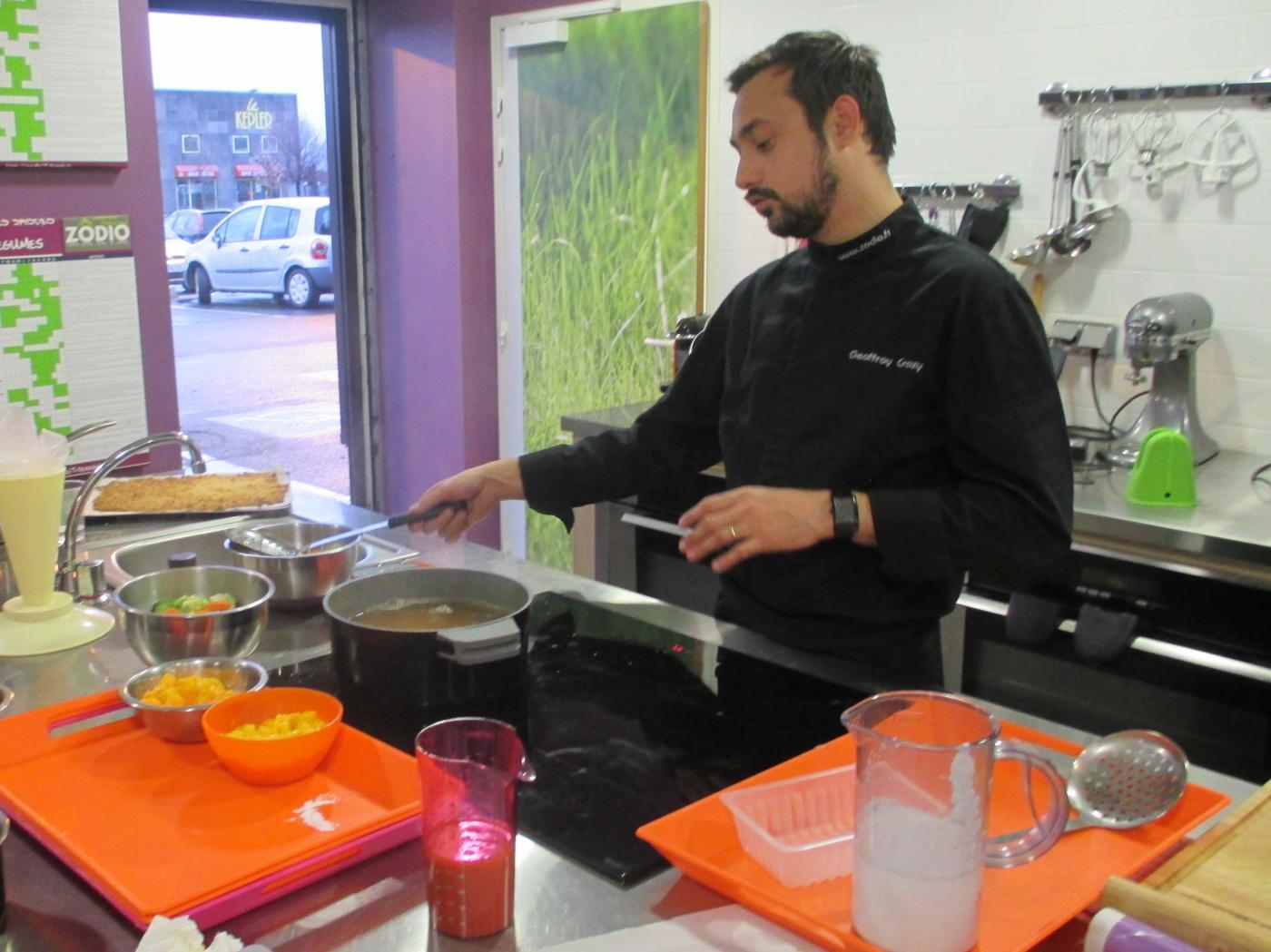 Ateler cuisine: menu indien