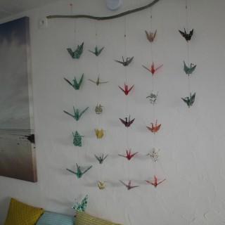 guirlandes d'origami