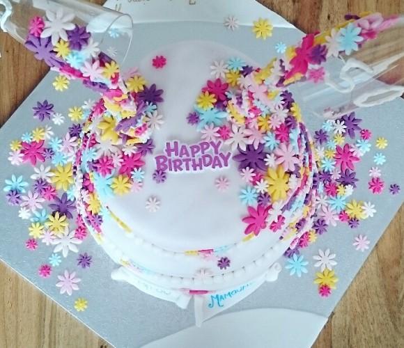 Gravity Cake pour l'Anniversaire de mes Parents d'Amour