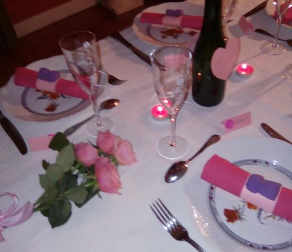 Décoration de table pour anniversaire Girly
