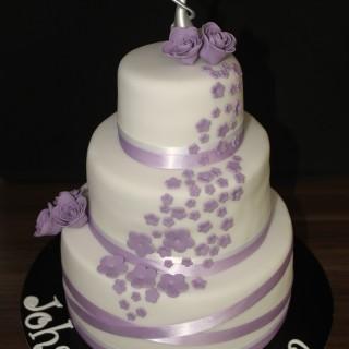 Gateau d'anniversaire mariage