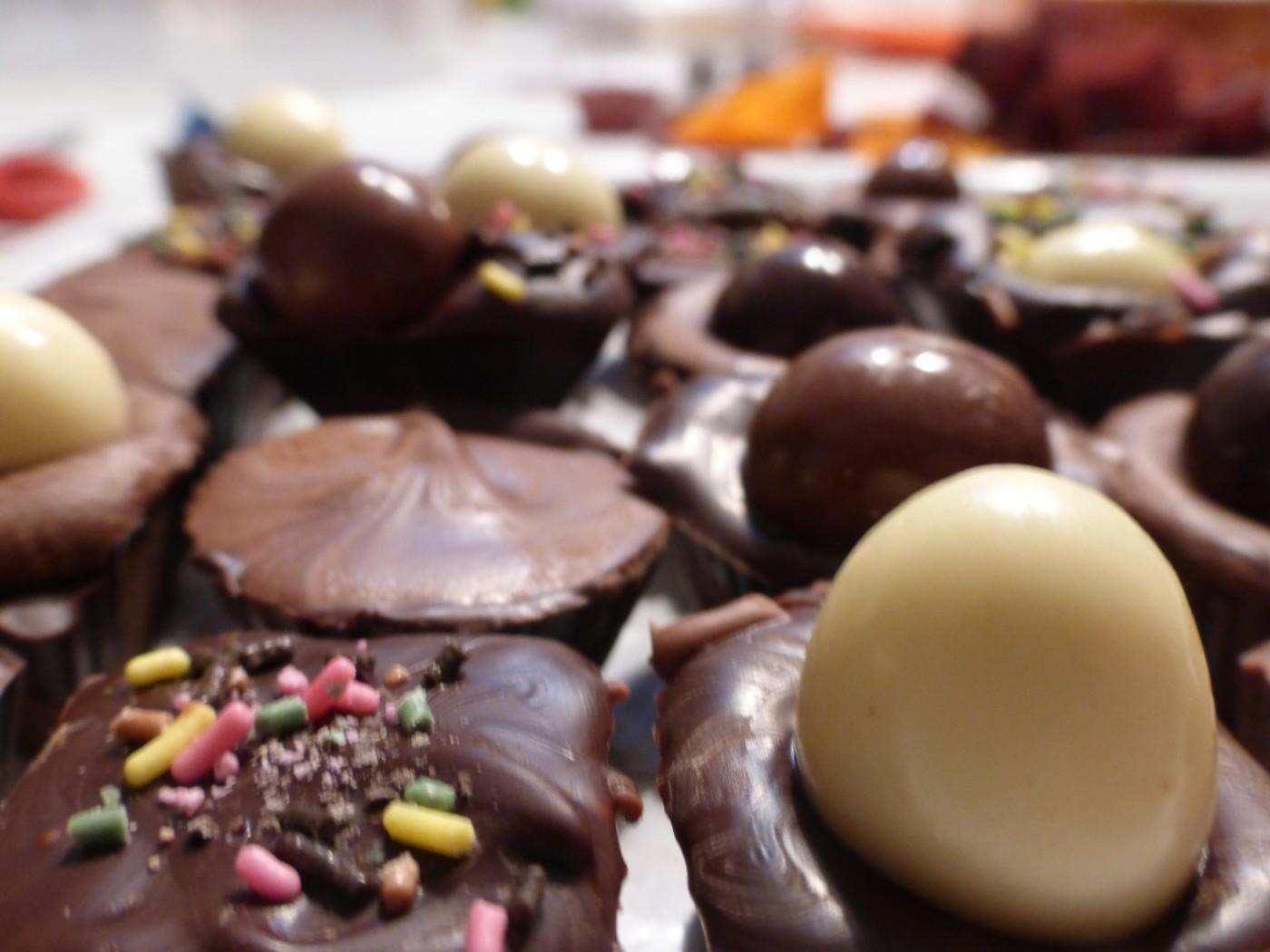 Chocolats de Pâques...