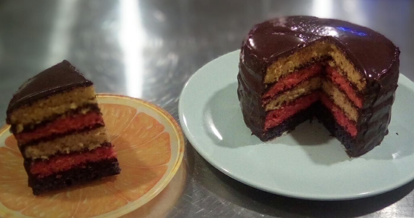 J 39 ai test pour vous wilton les moules rainbow cake - Moule a layer cake ...