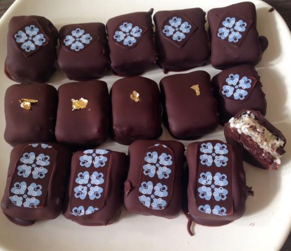 Mes chocolats «Bounty» de Pâques