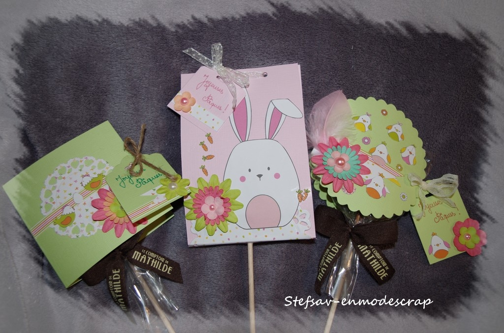 Pâques Créatif avec Stefsav-enmodescrap